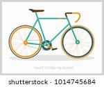 bicycle vector illustration   Shutterstock .eps vector #1014745684