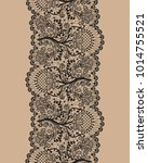 vertically seamless beige... | Shutterstock .eps vector #1014755521