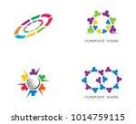 community vector icon | Shutterstock .eps vector #1014759115