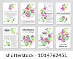 abstract vector layout... | Shutterstock .eps vector #1014762451
