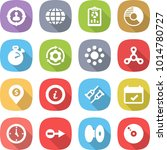 flat vector icon set   target... | Shutterstock .eps vector #1014780727