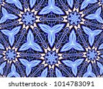 abstract fractal background... | Shutterstock . vector #1014783091