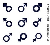 sexual icons set of 9 editable
