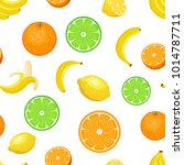 vector seamless pattern with... | Shutterstock .eps vector #1014787711