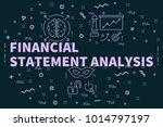 conceptual business... | Shutterstock . vector #1014797197