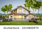 3d rendering of modern cozy... | Shutterstock . vector #1014800974