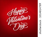 happy valentine's day...   Shutterstock .eps vector #1014814789