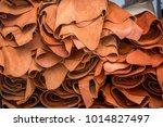 real toned leather ready to... | Shutterstock . vector #1014827497