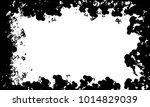 grunge frame vector template | Shutterstock .eps vector #1014829039