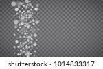 blizzard snowflakes on... | Shutterstock .eps vector #1014833317