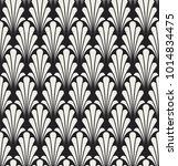 vintage art deco seamless... | Shutterstock .eps vector #1014834475