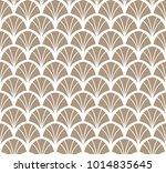 vintage art deco seamless... | Shutterstock .eps vector #1014835645