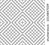 seamless simple monochrome... | Shutterstock .eps vector #1014847039