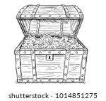 cartoon vector doodle drawing... | Shutterstock .eps vector #1014851275