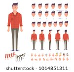 young man character for your... | Shutterstock .eps vector #1014851311