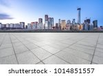 marble floor with panoramic... | Shutterstock . vector #1014851557