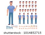 young man character for your... | Shutterstock .eps vector #1014852715