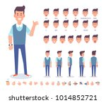 young man character for your... | Shutterstock .eps vector #1014852721