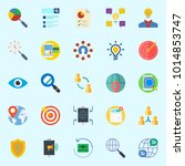 icons about marketing with...   Shutterstock .eps vector #1014853747