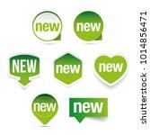 new label set sticker | Shutterstock .eps vector #1014856471