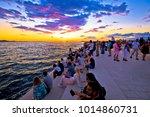 zadar  croatia   july 18 2017   ... | Shutterstock . vector #1014860731