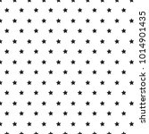 stars pattern black and white... | Shutterstock .eps vector #1014901435