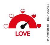 valentine's day card idea love...   Shutterstock .eps vector #1014906487