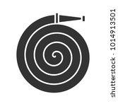 fire hose glyph icon.... | Shutterstock . vector #1014913501