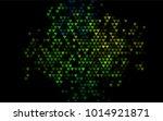 dark blue  yellow vector... | Shutterstock .eps vector #1014921871