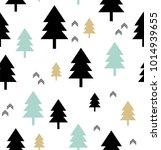 scandinavian style. seamless... | Shutterstock .eps vector #1014939655