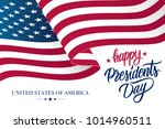 happy presidents day celebrate... | Shutterstock .eps vector #1014960511