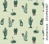 cactus pattern illustration