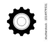 gear wheel icon | Shutterstock .eps vector #1014979531