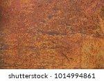 grunge rusted metal texture ... | Shutterstock . vector #1014994861