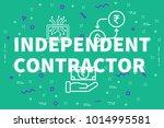 conceptual business... | Shutterstock . vector #1014995581