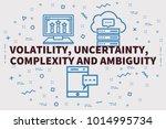 conceptual business... | Shutterstock . vector #1014995734