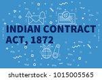 conceptual business... | Shutterstock . vector #1015005565