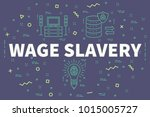 conceptual business... | Shutterstock . vector #1015005727