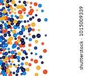 vector confetti background... | Shutterstock .eps vector #1015009339