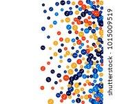 vector confetti background... | Shutterstock .eps vector #1015009519