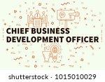 conceptual business... | Shutterstock . vector #1015010029