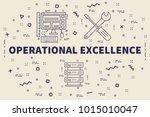 conceptual business... | Shutterstock . vector #1015010047