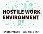 conceptual business... | Shutterstock . vector #1015011454