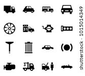 origami style icon set   car... | Shutterstock .eps vector #1015014349