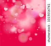 hearts random background. st....   Shutterstock .eps vector #1015016761