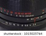 Small photo of aperture f-stop manual camera lens