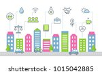 sustainable development and...   Shutterstock .eps vector #1015042885