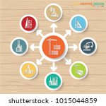 factory and industrial info... | Shutterstock .eps vector #1015044859