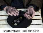 poverty in developing countries.... | Shutterstock . vector #1015045345