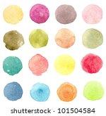 watercolor seamless pattern  1 | Shutterstock . vector #101504584